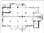 Sec. XVI. Disegno della Pianta della nuova Chiesa di Bollate, secondo la licenza data da San Carlo.